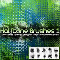 Halftone Brushes 1 by AscendedArts