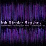 Ink Stroke Brushes 1
