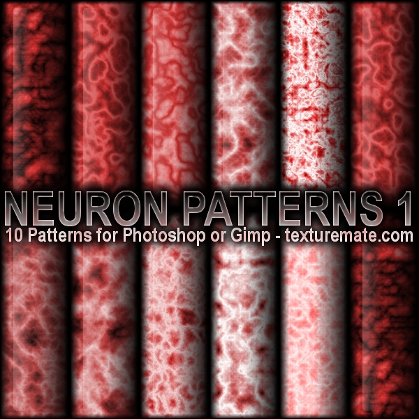 Neuron Patterns 1 by AscendedArts
