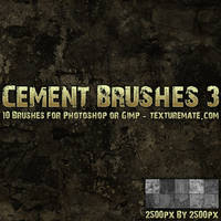 Cement Brushes 3 by AscendedArts