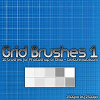 Grid Brushes 1 by AscendedArts