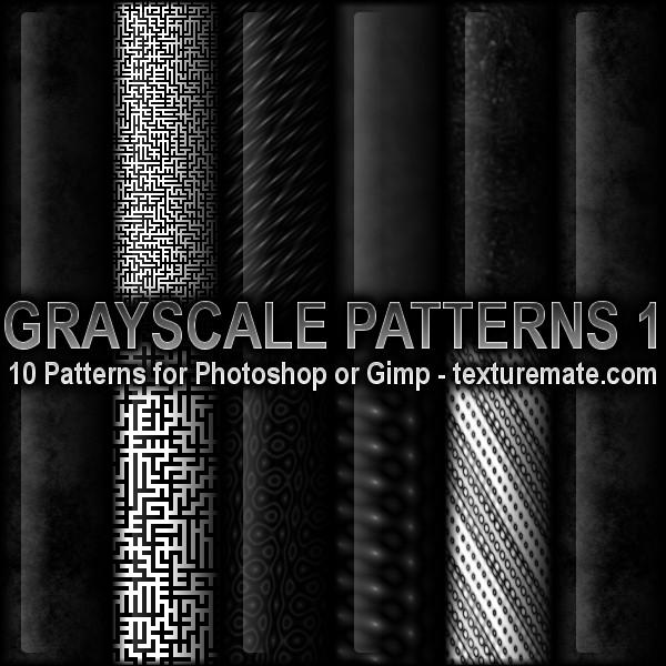 Grayscale Patterns  F65323db6cdcf84b11d9564144afa36c-d3d12vi