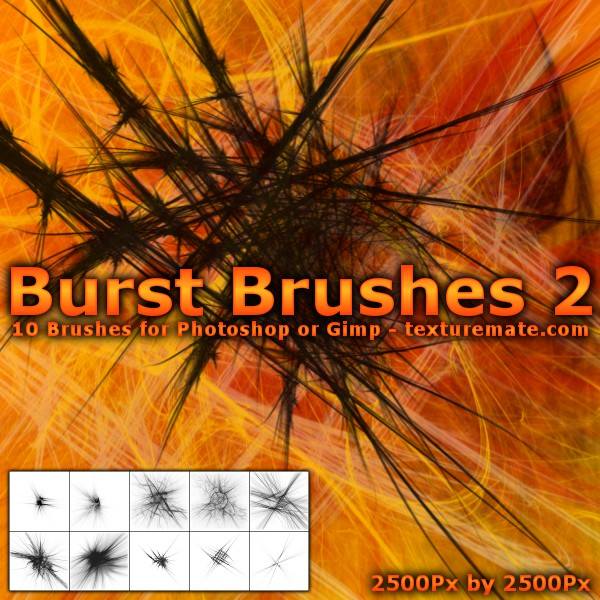 Burst Brushes 2