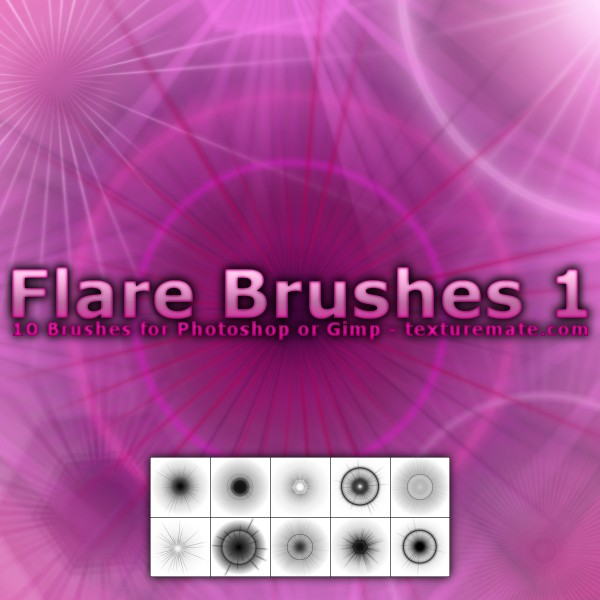 Flare Brushes 1 by AscendedArts