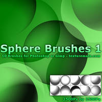 Sphere Brushes 1 by AscendedArts