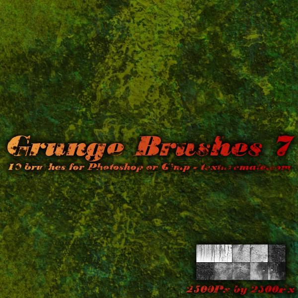 Grunge Brushes 7 by AscendedArts