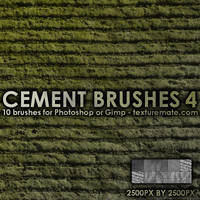 Cement Brushes 4 by AscendedArts