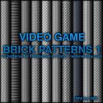 Video Game Brick Patterns 1