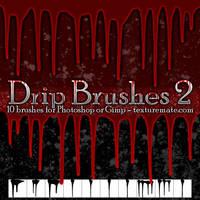 DripBrushes02 by AscendedArts