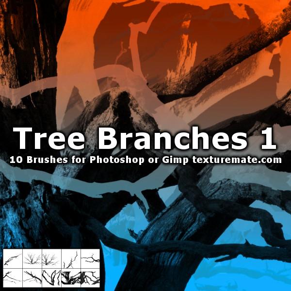 TreeBranchBrushes01 by AscendedArts