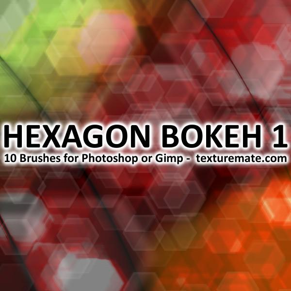 Texturemate-HexagonBokeh01 by AscendedArts