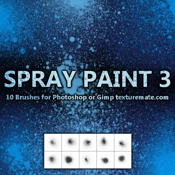 Texturemate-SprayPaint03 by AscendedArts