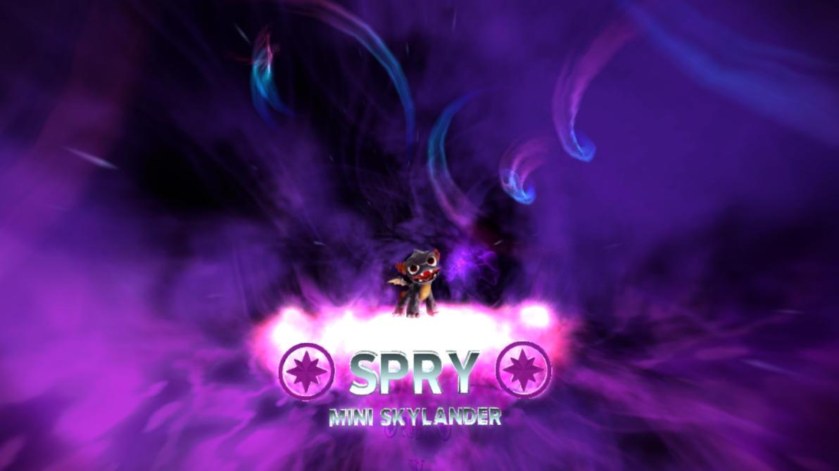 Skylanders Trap Team - Spry by RazorVolare