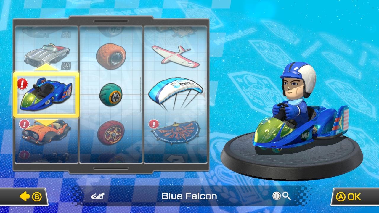 Mario Kart 8 - COME ON! BLUE FALCON! by RazorVolare