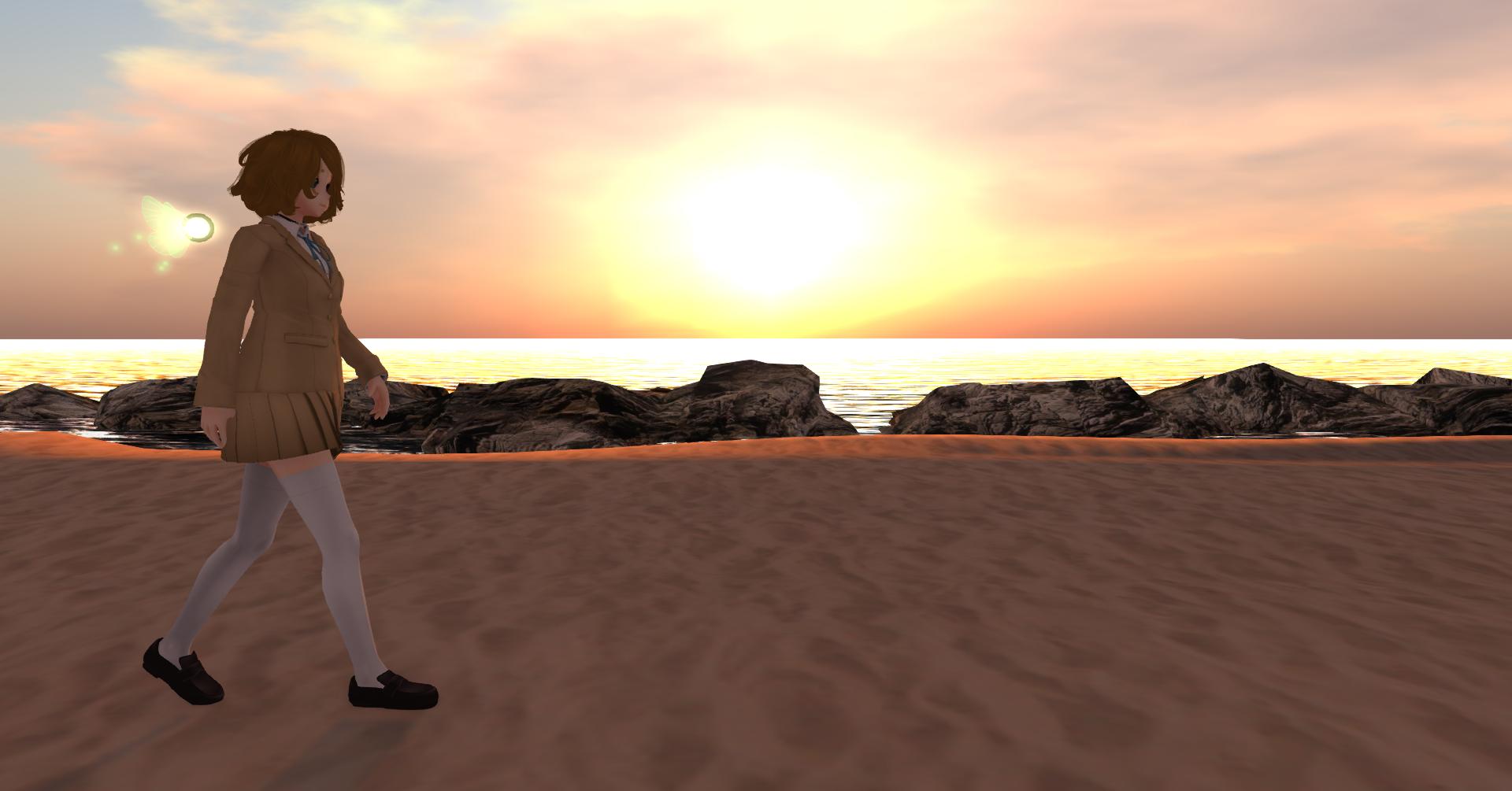 Yume's Story #17 - Sunset Sendoff by RazorVolare