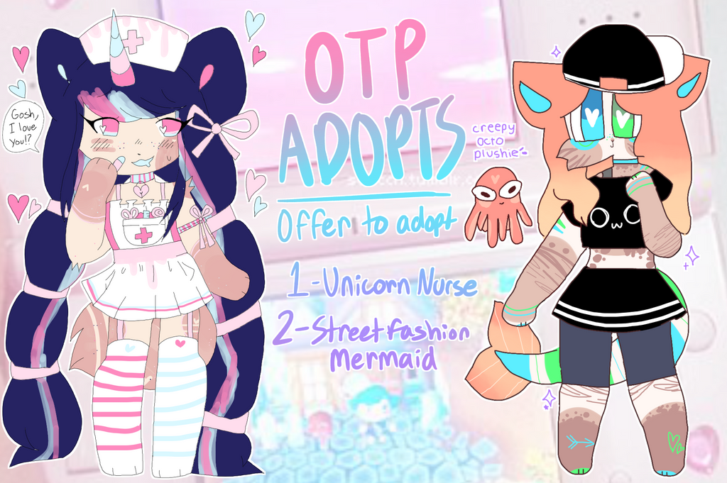 OTP COLLAB ADOPTS - OPEN by fairytoys