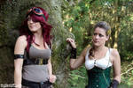 Steampunk : 2012 : Tink and Floz
