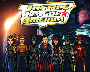 Justice League of America - 1st team (New Earth)