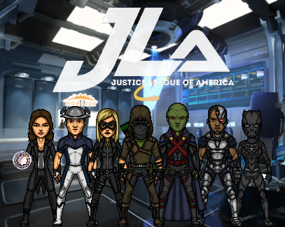 Justice League - Second Formation (New Earth) by Nova20X