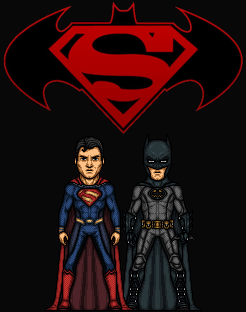 The World's Finest - first meeting (New Earth) by Hernan20X