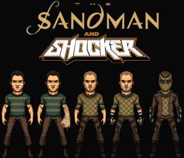 Sandman and Shocker (New Earth) by Nova20X