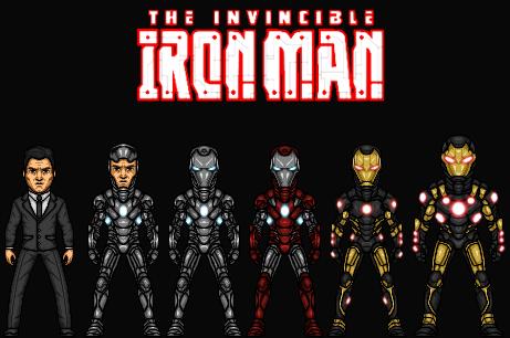 Harrison Wells:The Invincible Iron Man (New Earth) by Nova20X