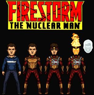 Firestorm: The Nuclear Man (New Earth) by Nova20X