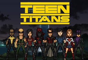 Teen Titans - second formation (New Earth)