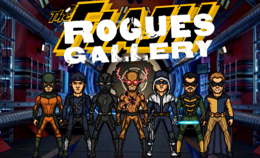 Flash's Rogues Gallery (New Earth) by Nova20X