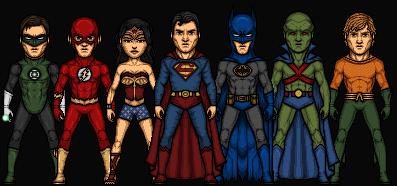 JL MONTH: The Silver Age by Nova20X