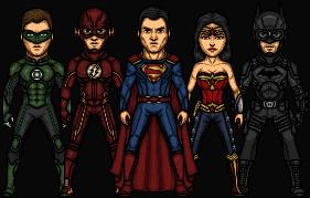 JL MONTH: CW's Justice League by Nova20X
