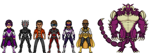 Zener - Cast of Characters - Comission