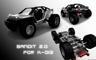 Commission: Bandit 2.0 for K-013 by ITman496