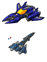 Some drawings of ships