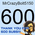 600 SUBSCRIBERS!!!