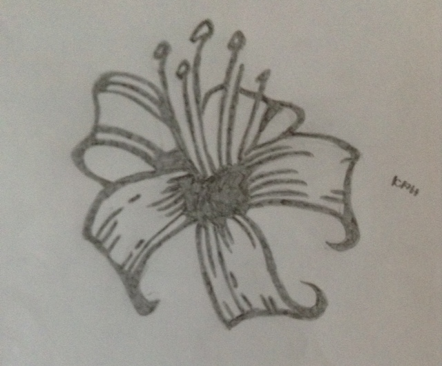 Pencil Flower by EricDaneislovex3