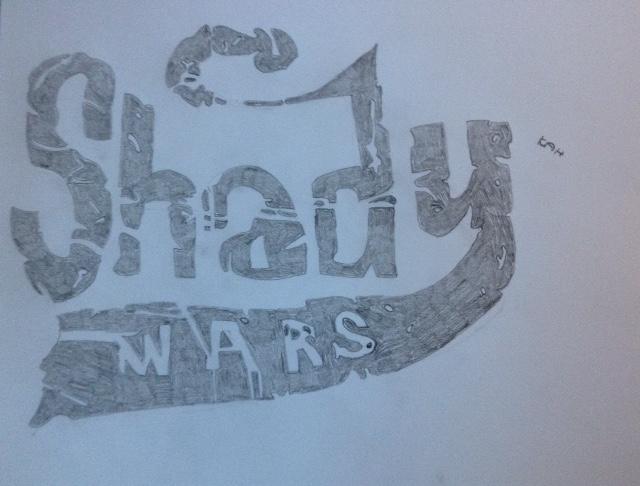 Eminem Shady Wars logo by SimplyKristina