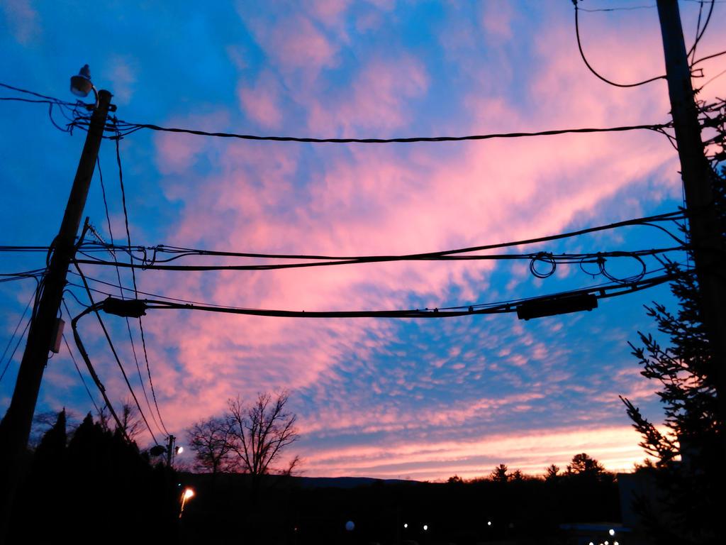 Work sunset by SimplyKristina