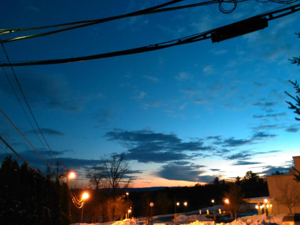 Blue Orange Skies Work by SimplyKristina