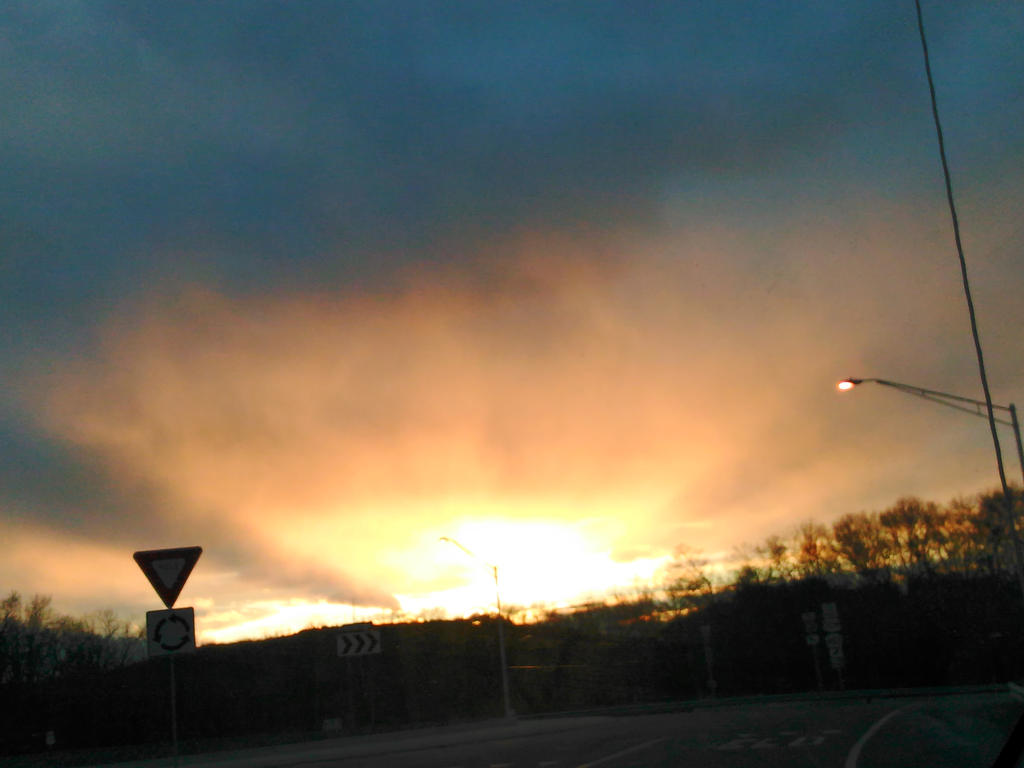Yellow Orange Explosion by SimplyKristina