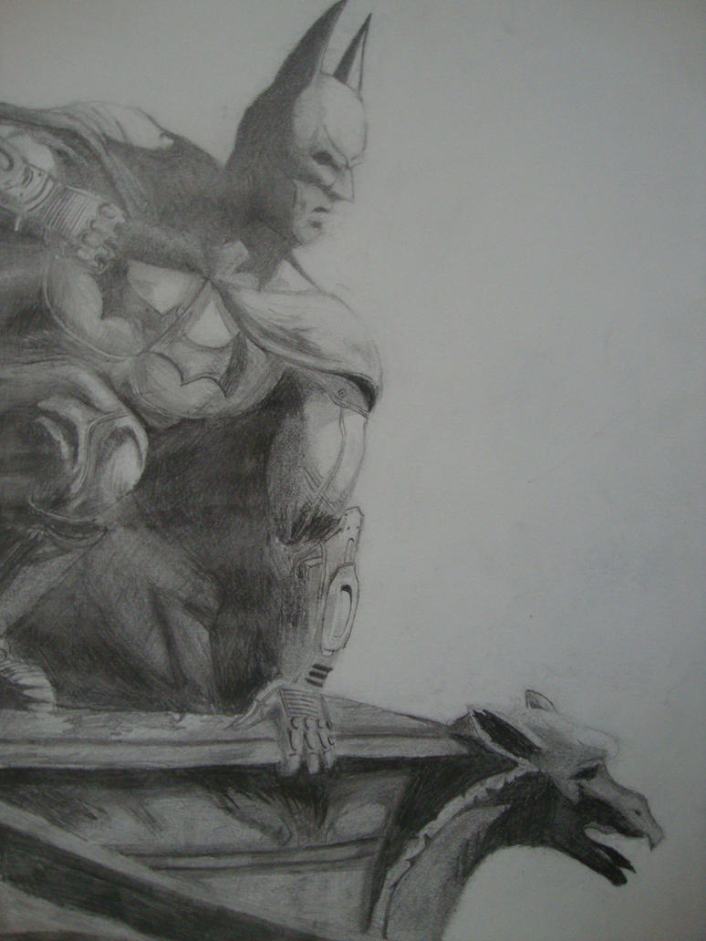 Batman: Arkham City drawing wallpaper by Mooseass on ...