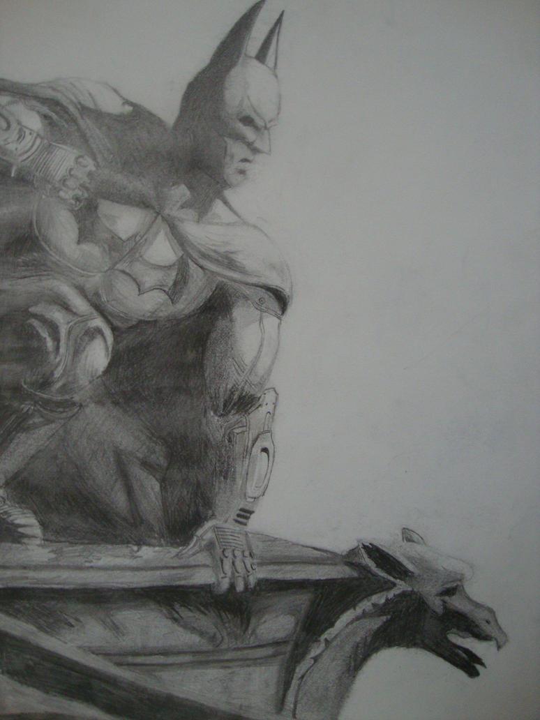 Batman: Arkham City drawing wallpaper by Mooseass on ...