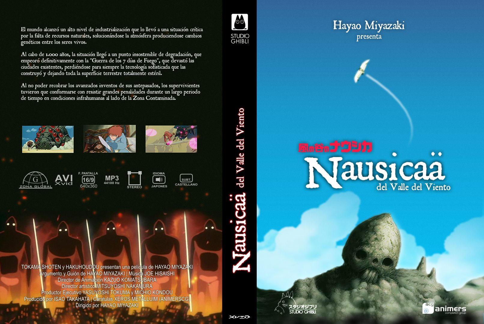 Nausicaa De La Vallee Du Vent Nausicaa of the Valley of the Wind ...