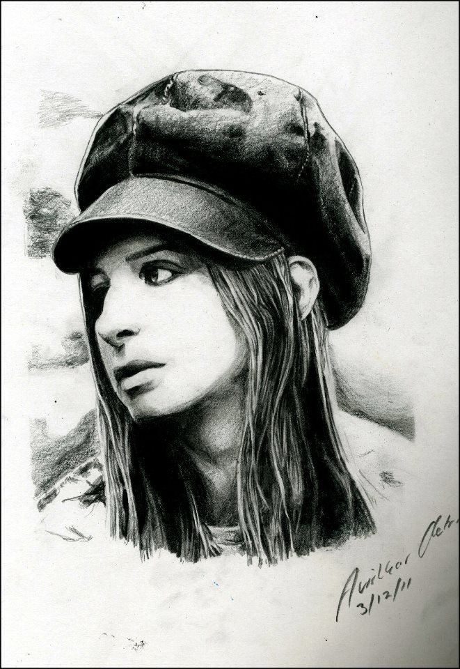 Barbra Streisand by AviArts