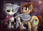 Commission: NP loves Skellypone