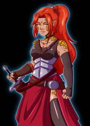 Dazielle, Dragonblessed Bloodrager