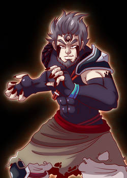 Darius, Dragonblessed Dirty Fighter