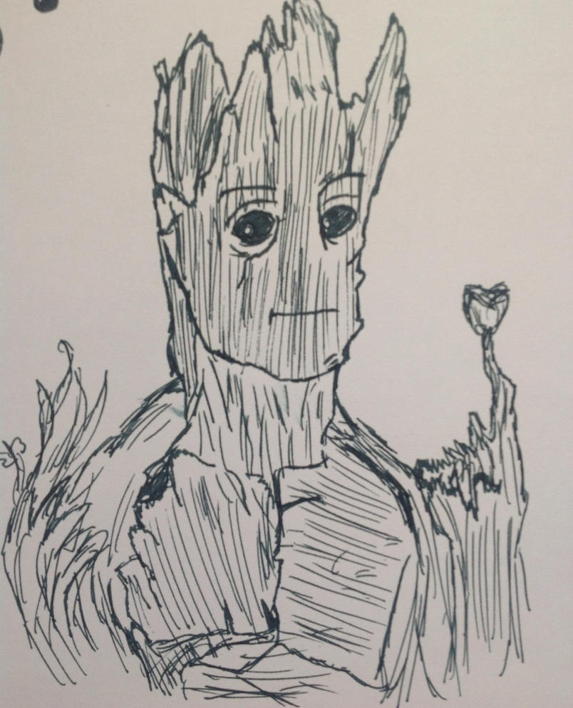 Groot by Opal-the-fluffmaker
