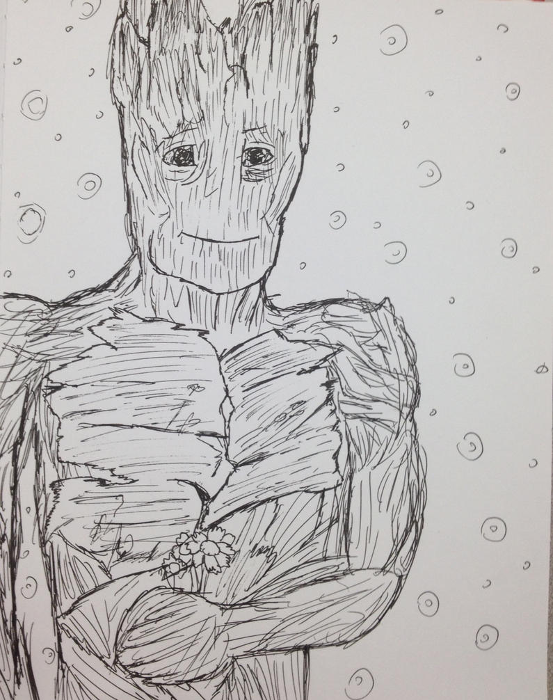 Another Groot pic by Opal-the-fluffmaker