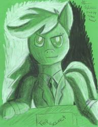 Miss President Silver Arrow by StephenWinter